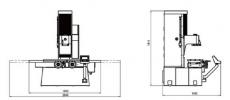 SJMC BM160 расточной станок с функцией обработки плоскости